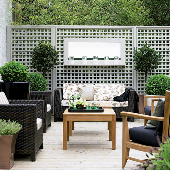 Awesomely Stylish Urban Living Rooms: London Garden Design