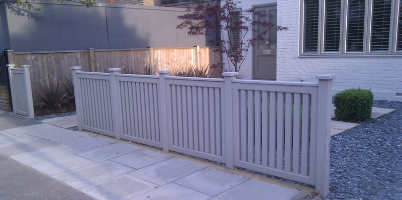 front garden fence ideas uk