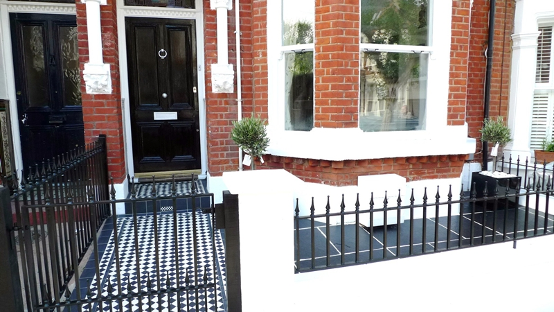 httprhsblogcoukwp contentuploads201111front garden black and white tile path londonjpg extension pinterest victorian mosaic tile