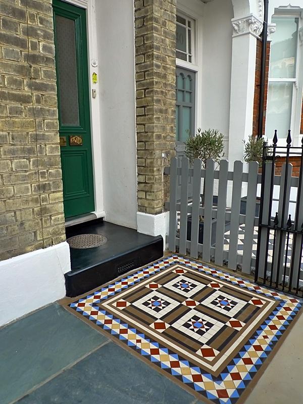 Mosaic Tile Path Mosaic Front Garden Tile Path