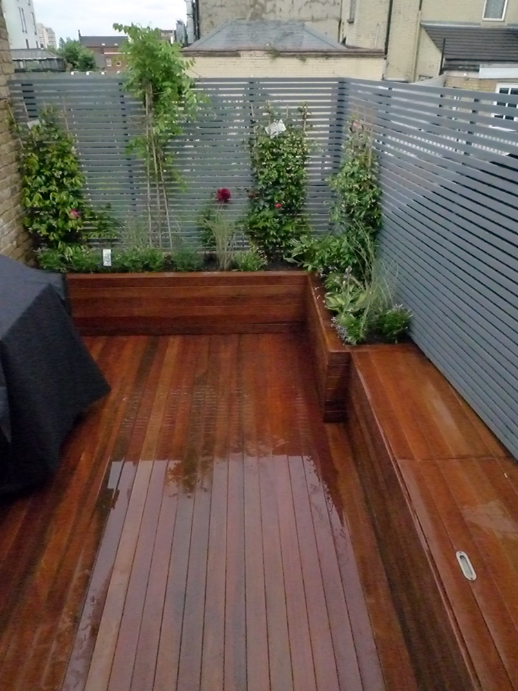 Roof garden design london native garden design for Roof deck design