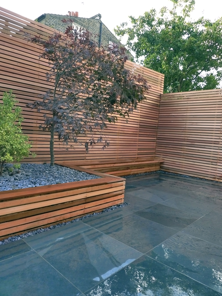Modern garden design london garden blog for Contemporary garden design ideas