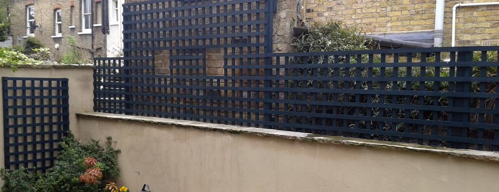 bespoke fine trellis installation london