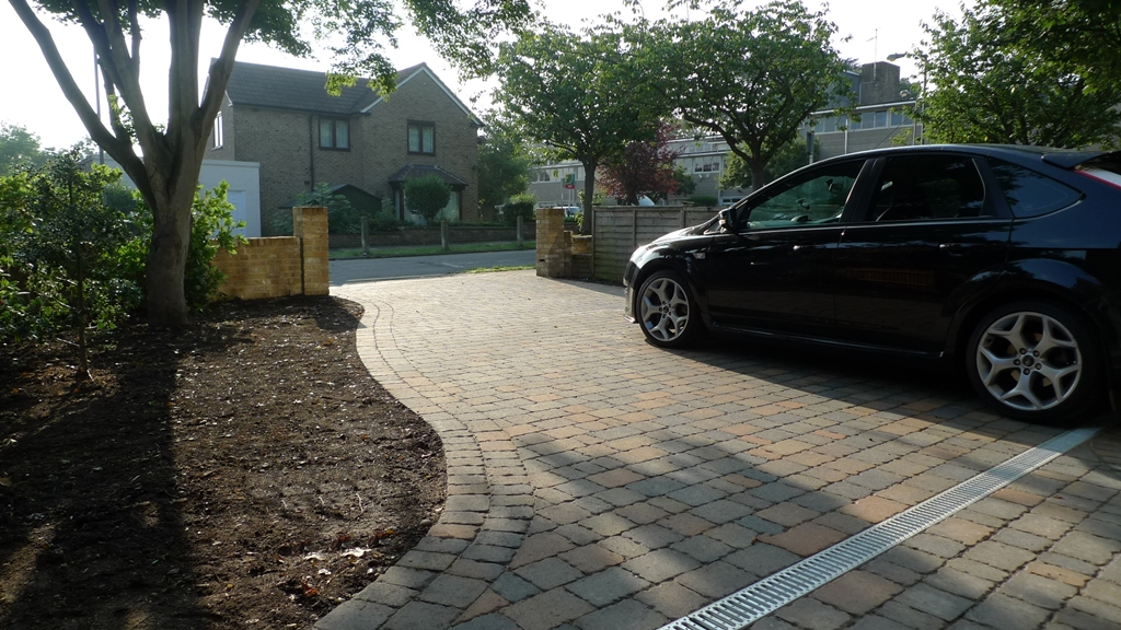 london block paving driveway Putney