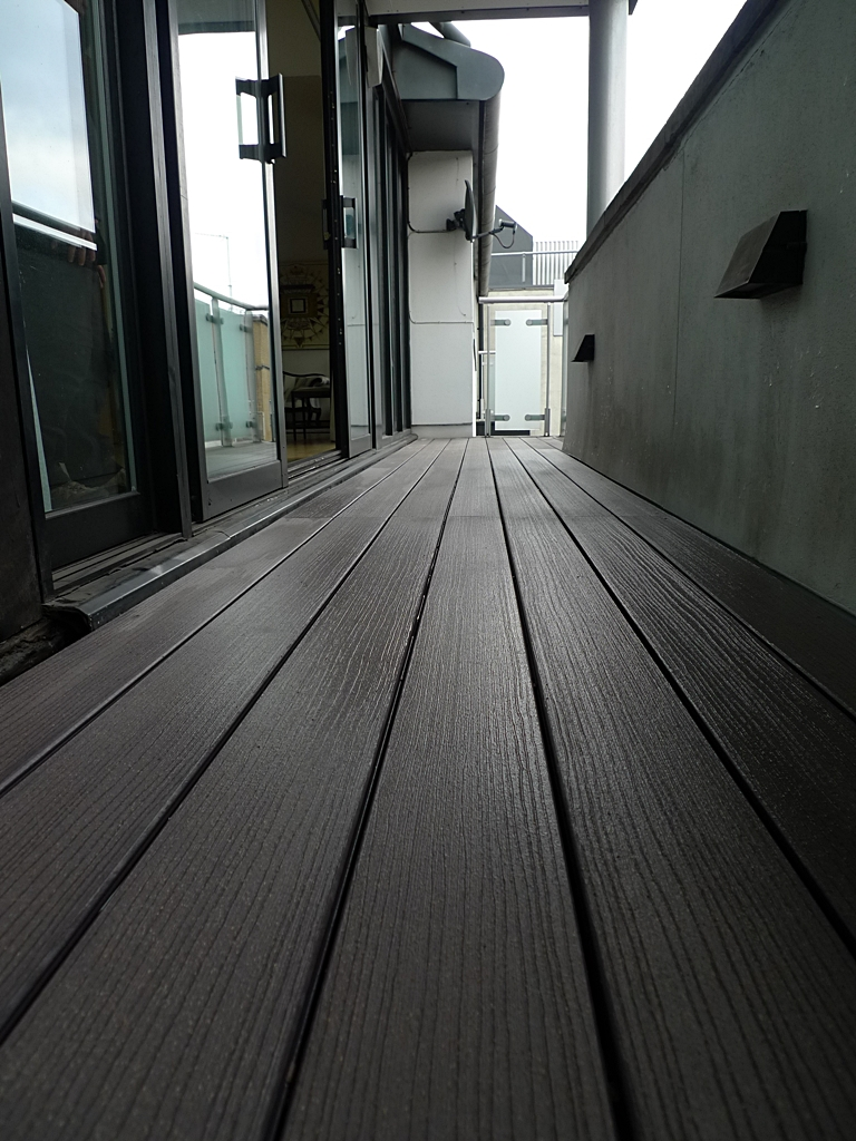 composite decking balcony central balcony