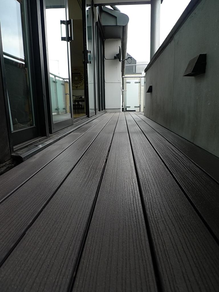composite decking balcony central balcony
