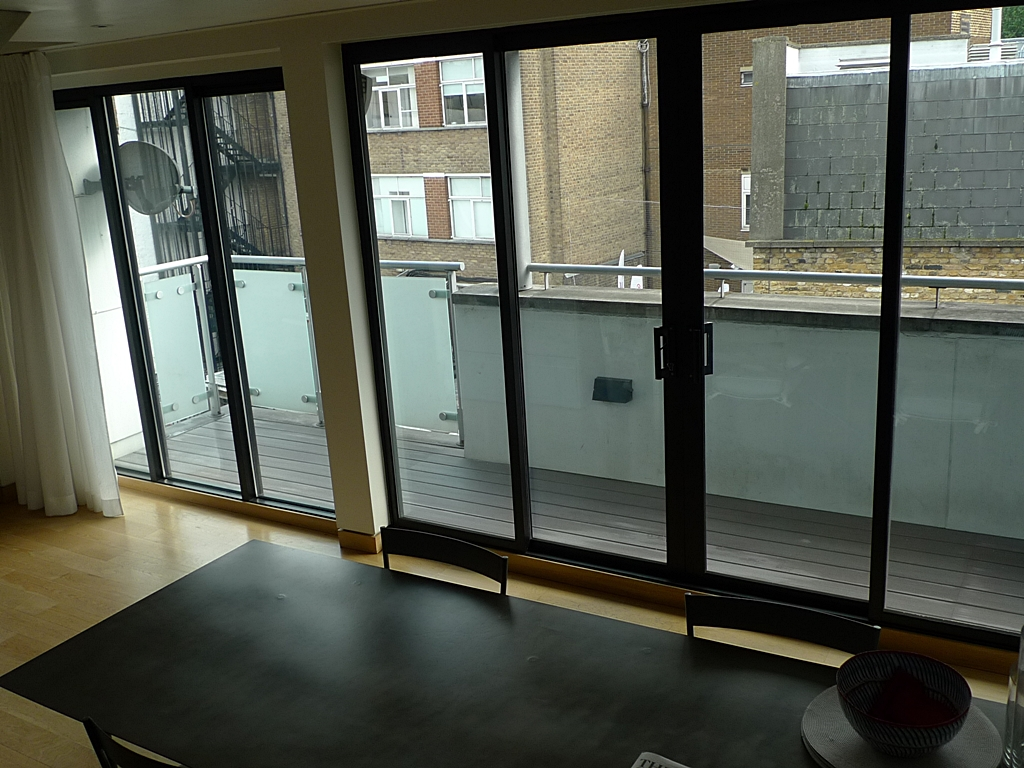 decking balcony grey composite decking installer soho london