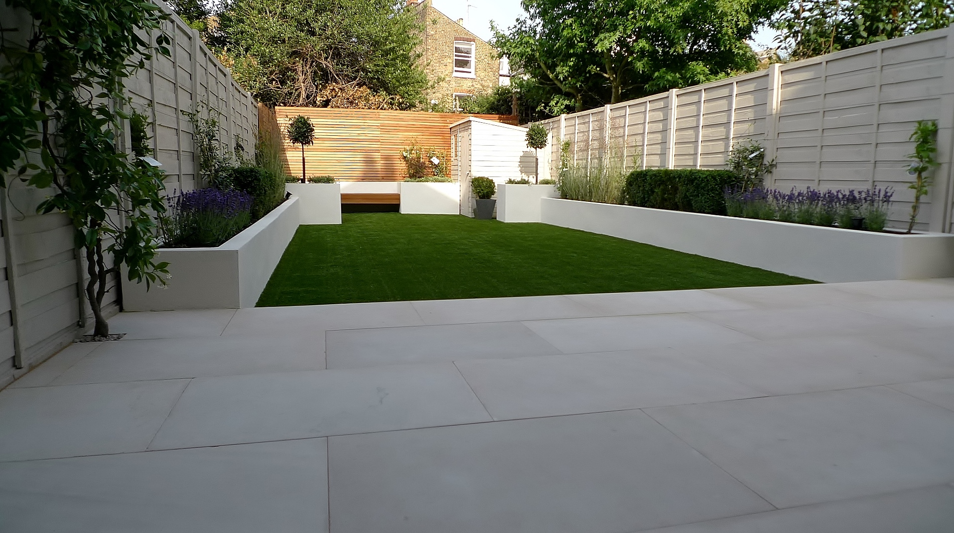 small modern garden design ideas london