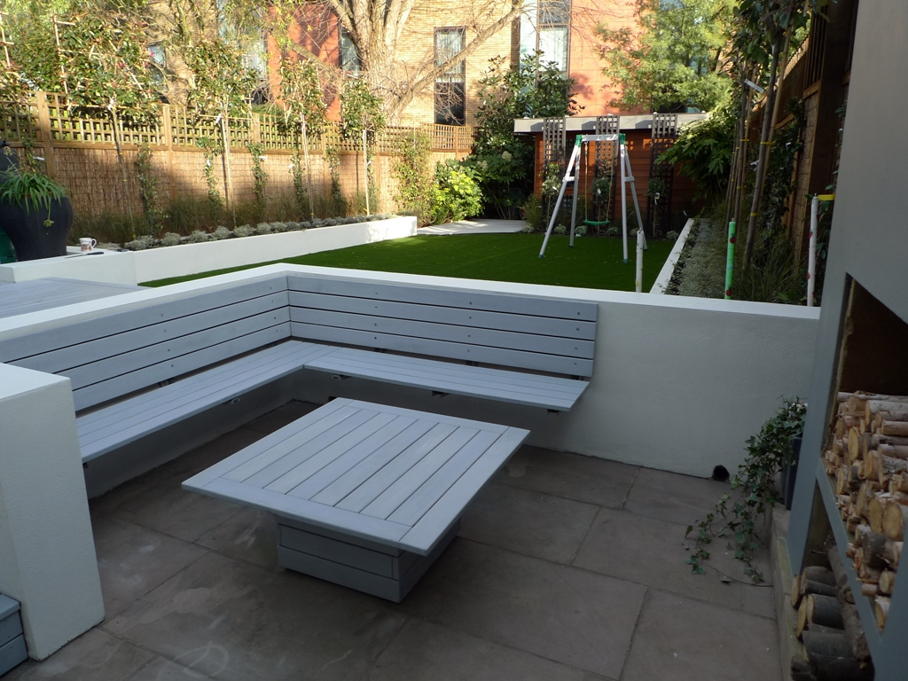 more picture of modern garden design balham wandsworth london