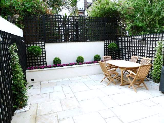 mint sandstone patio paving installation london