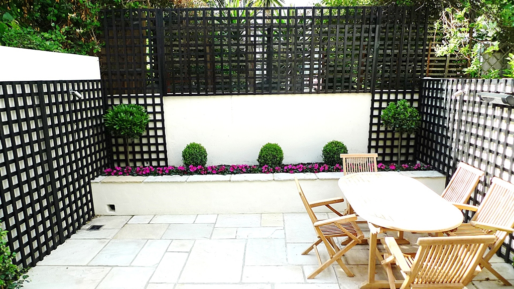 ten modern garden design ideas london 2014