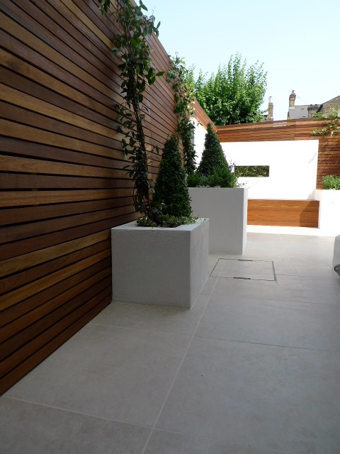 travertine tile patio paving london
