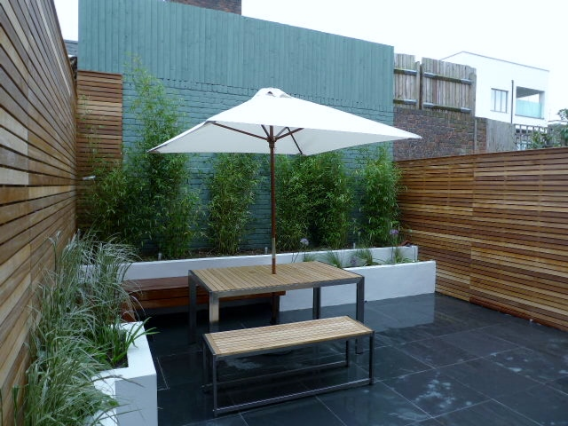 court yard garden design ideas london