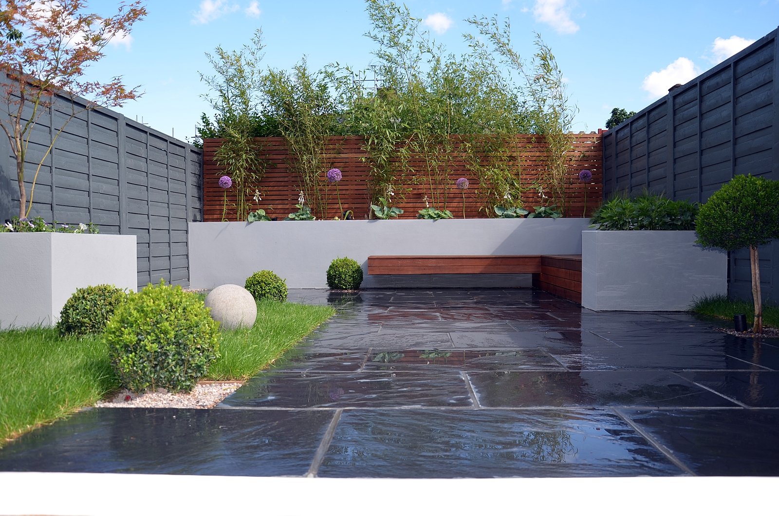 Modern garden design london london garden blog for Landscape design london