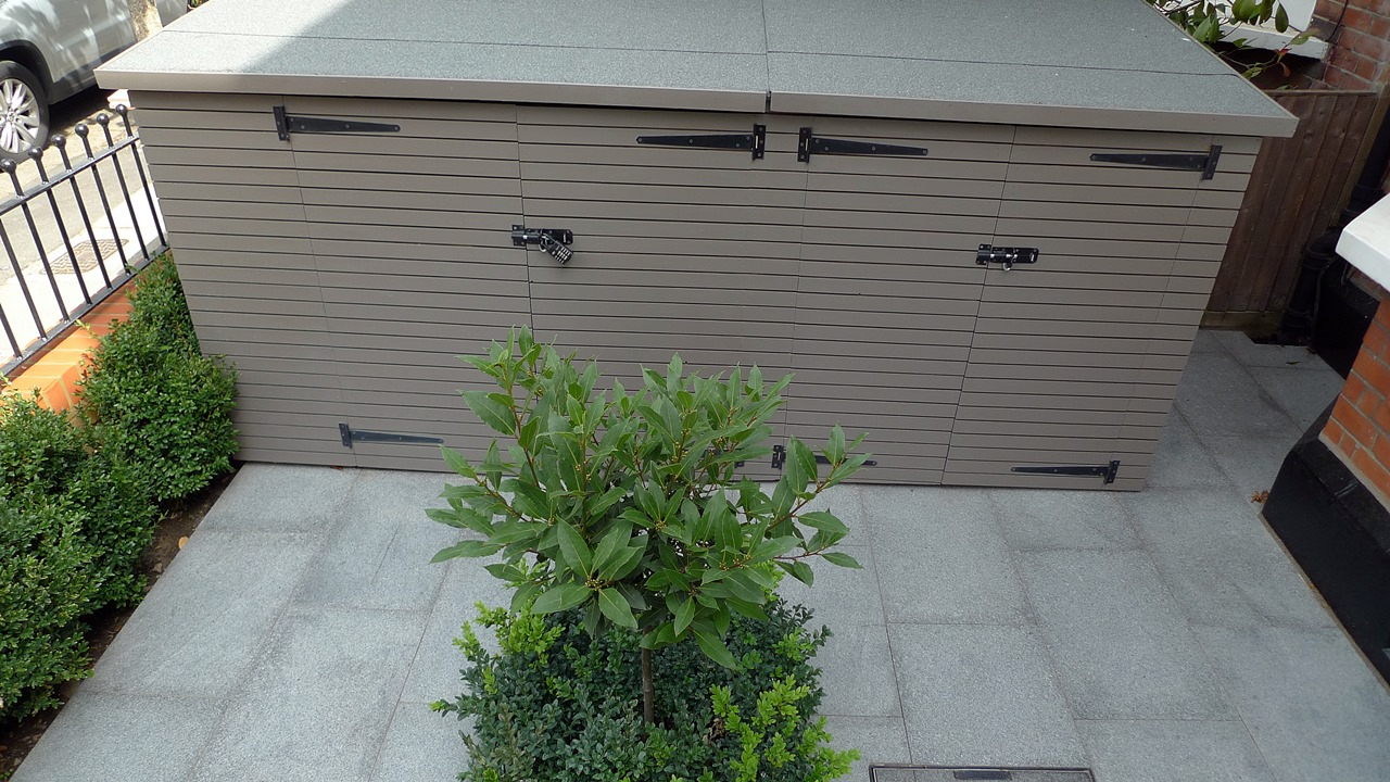 bespoke bike storage shed wimbledon london