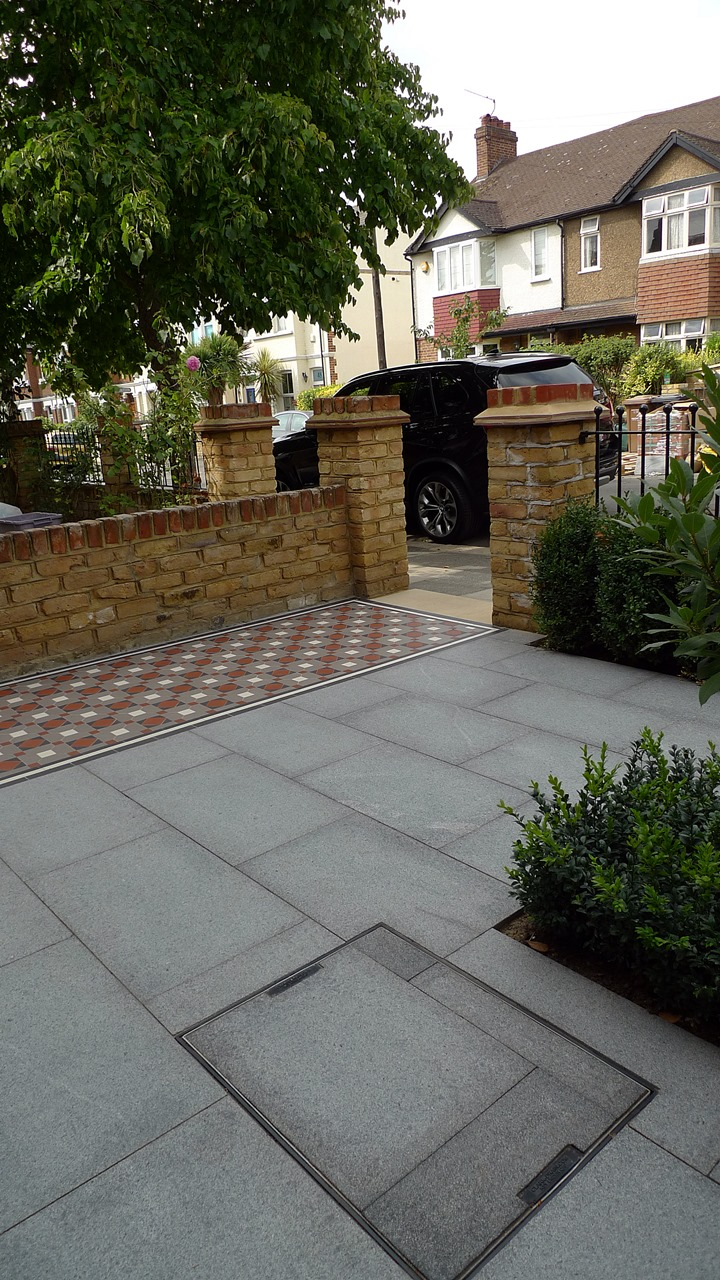 granite paving front gardenlondon