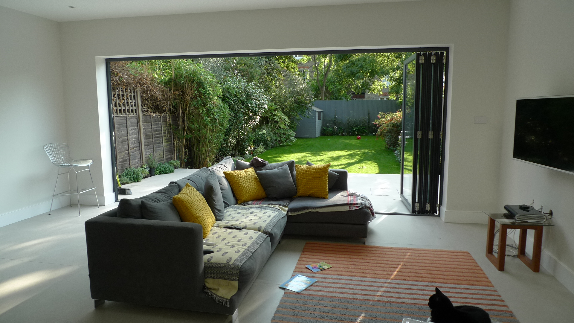 modern interior exterior garden house design Weaver Balham Tooting London (2)