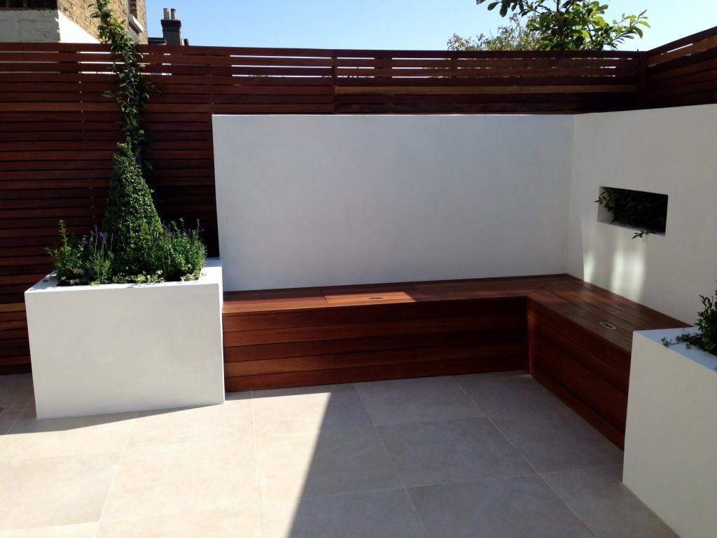 Small Modern Minimalist Low Maintenance Garden Dulwich