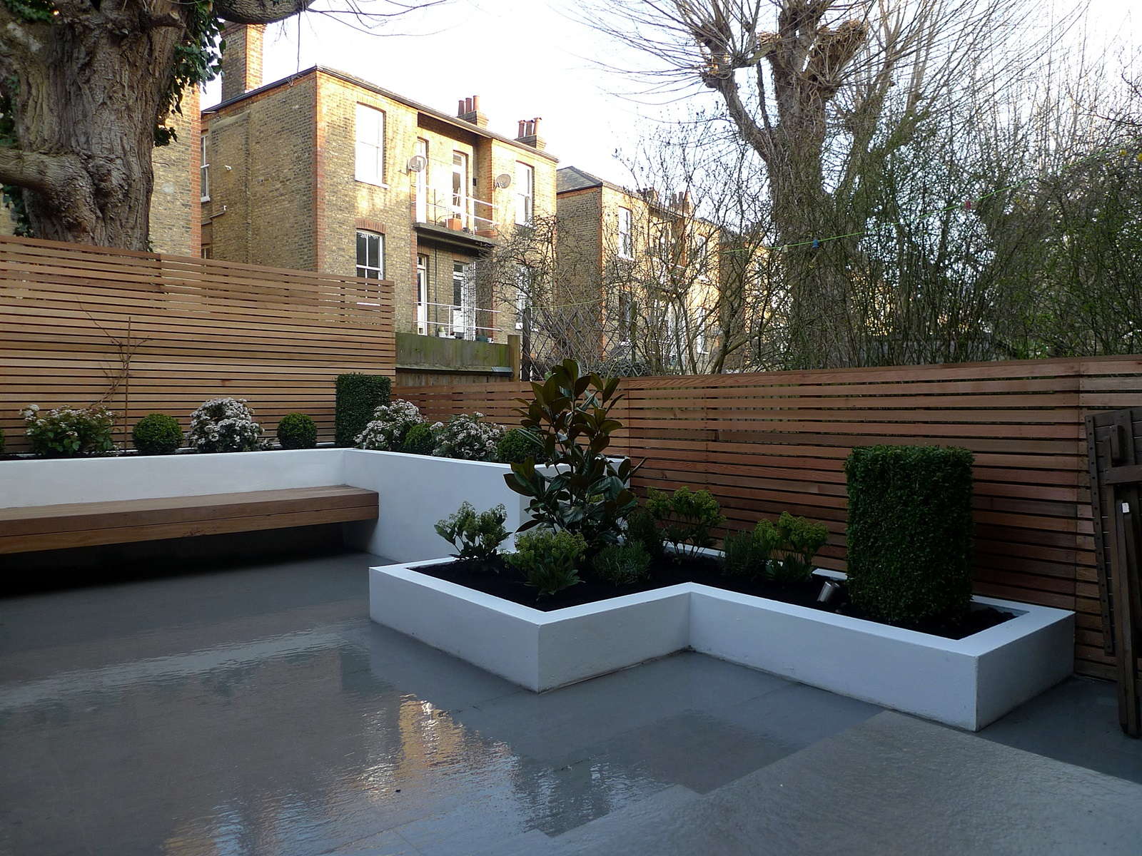 garden design designer clapham balham battersea small garden low