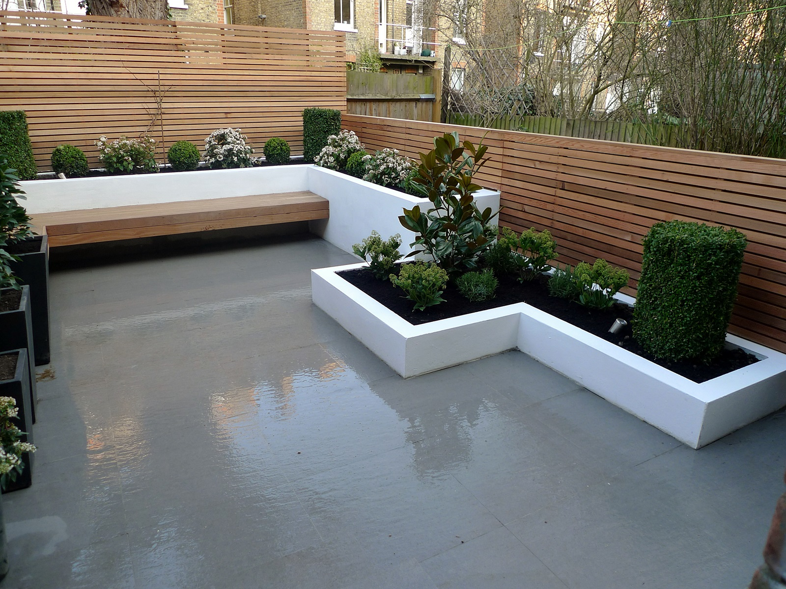 Garden design designer clapham balham battersea small low maintenance modern garden (12)