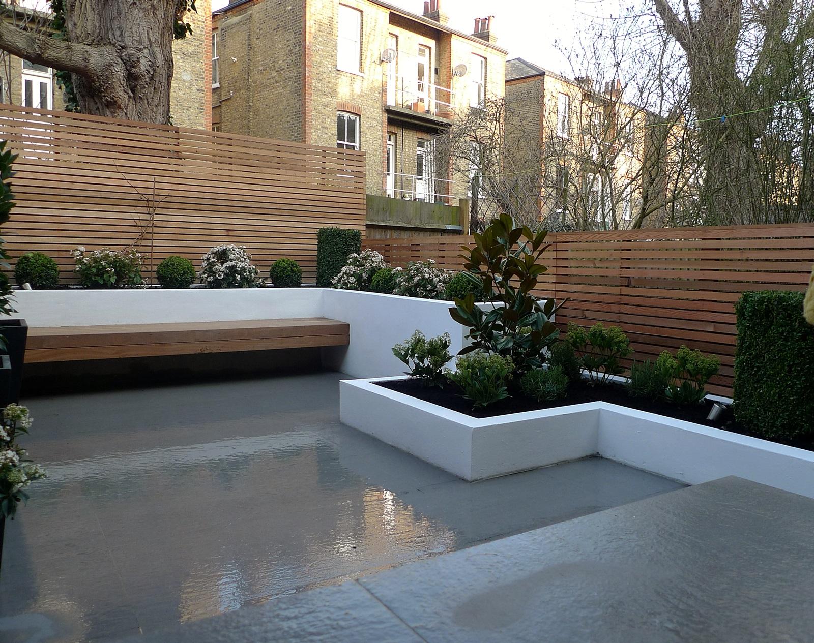 Garden design designer clapham balham battersea small for Garden maintenance london