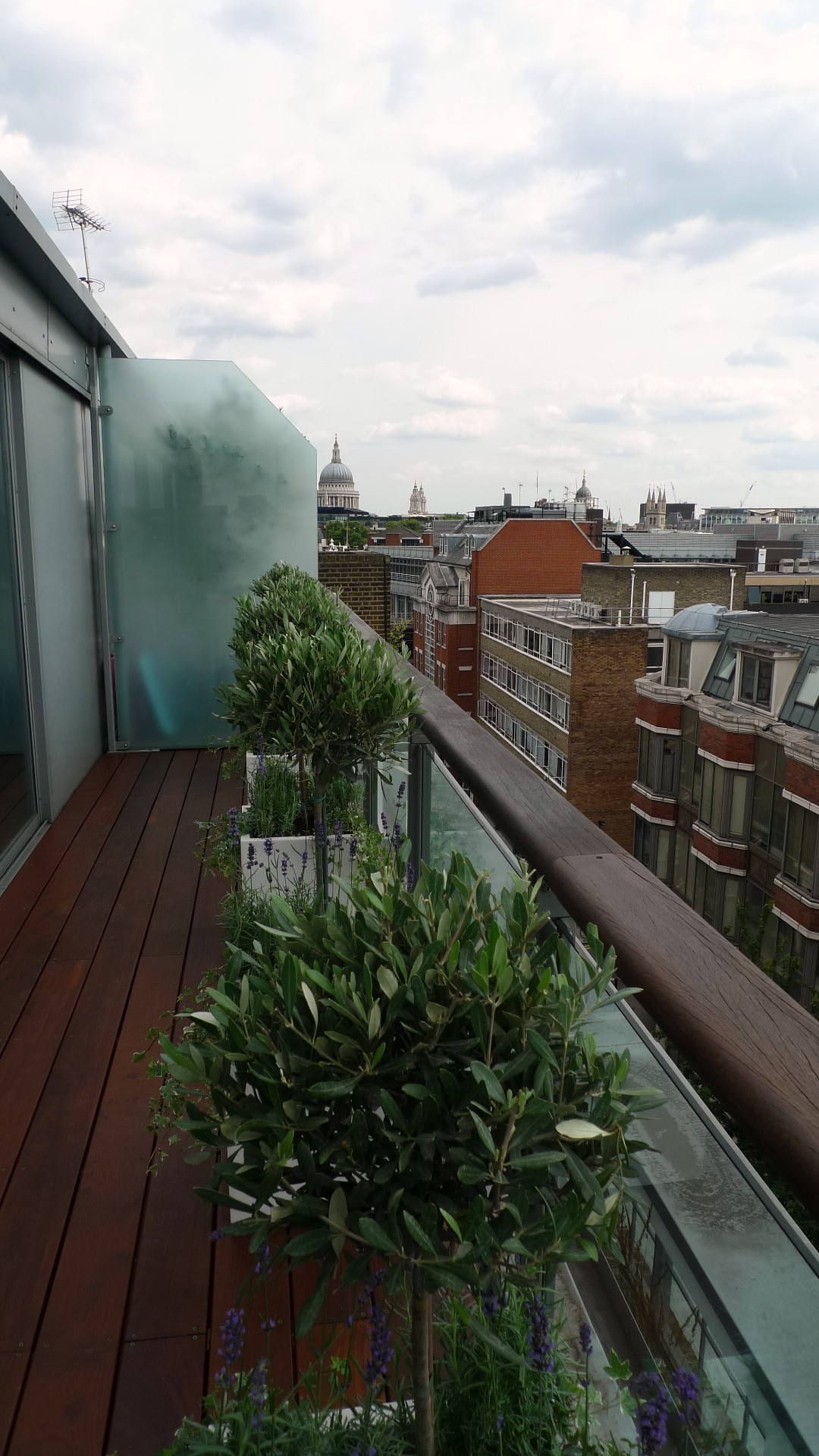 Ipe brazillian hardwood deck decking installation builders garden designers islington central london roof garden (11)