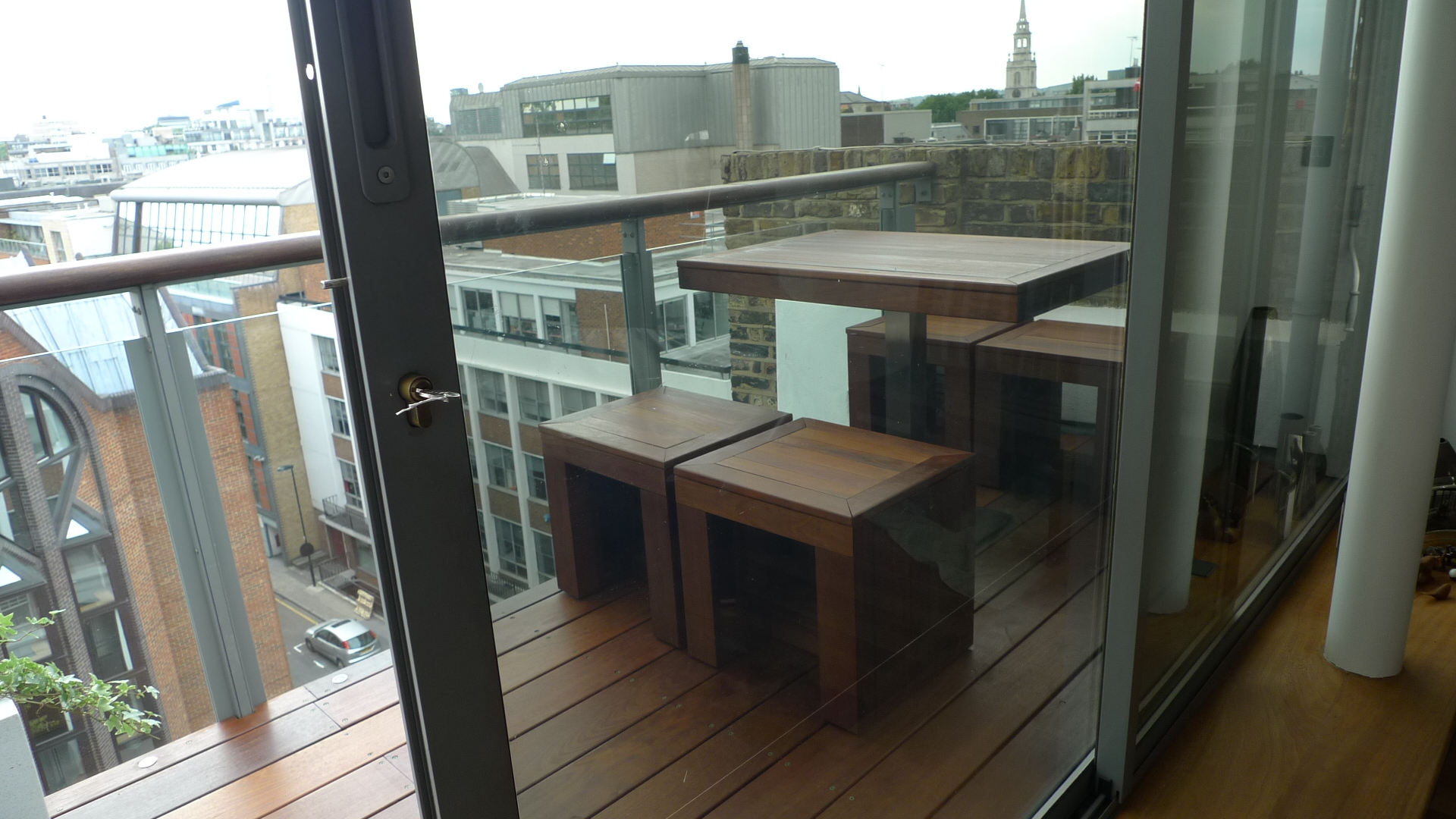 Ipe brazillian hardwood deck decking installation builders garden designers islington central london roof garden (15)