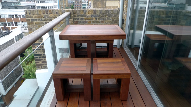 Ipe brazillian hardwood deck decking installation builders garden designers islington central london roof garden (5)