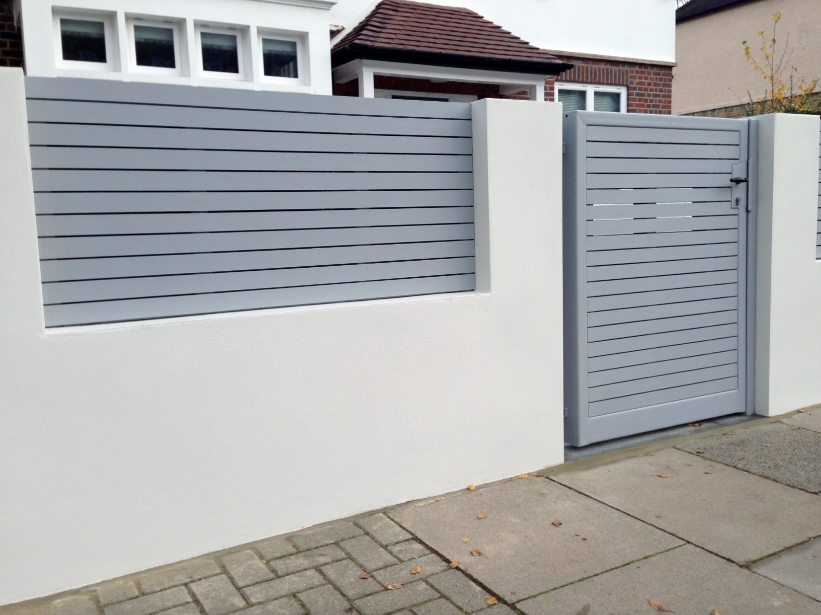 Boundary wall gate images joy studio design gallery for Boundary wall