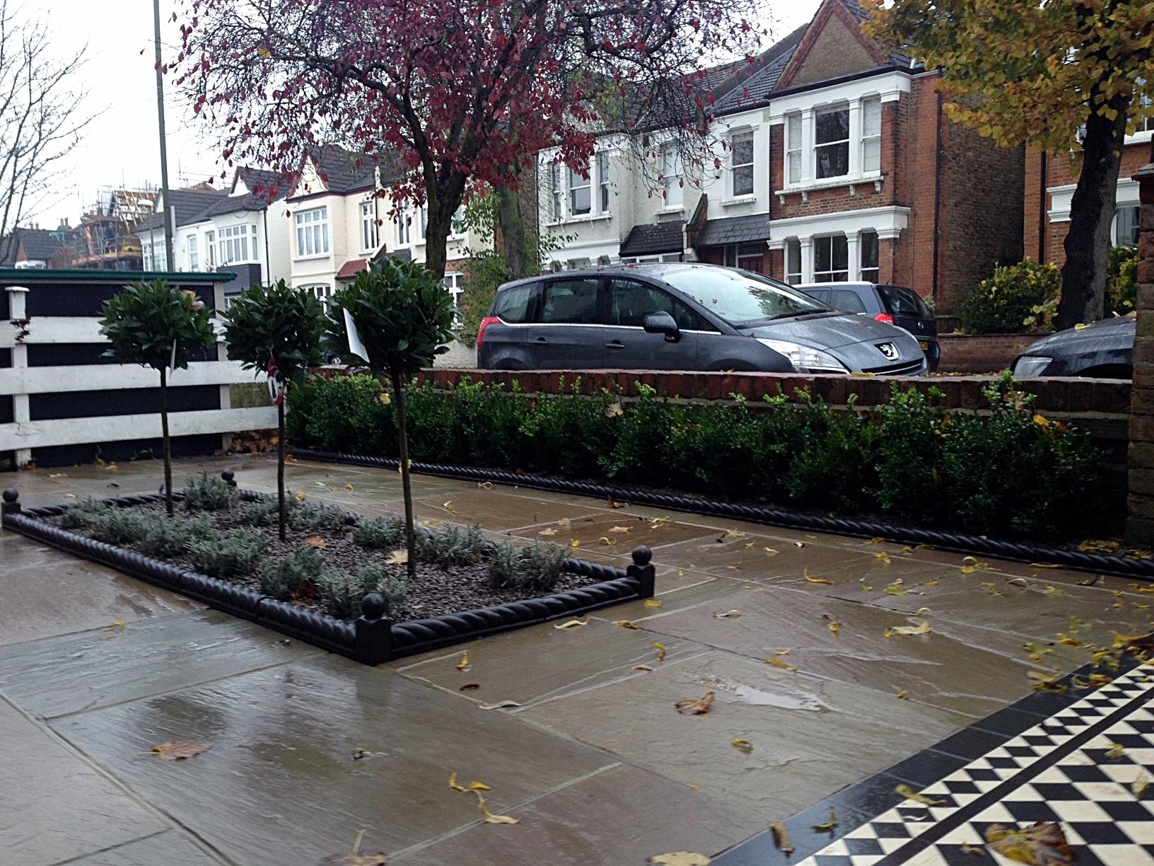 victroian front garden company london anewgarden (2)