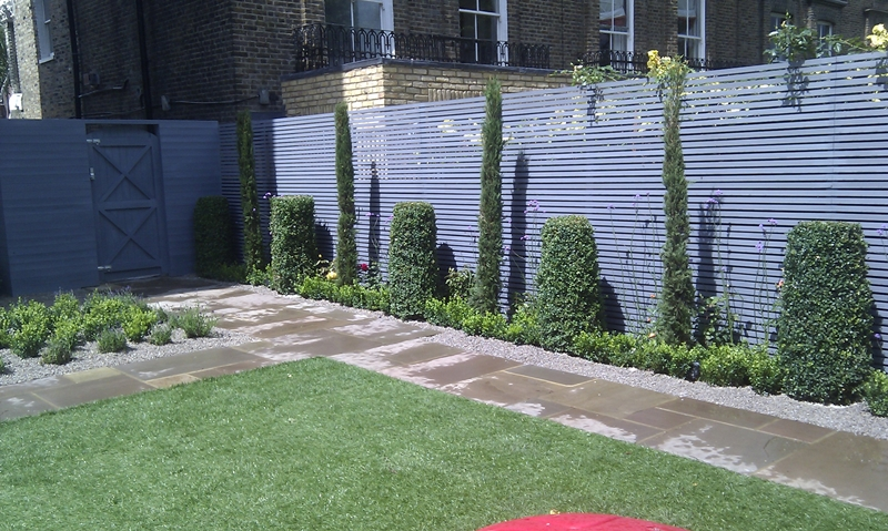 Privacy screen trellis design london