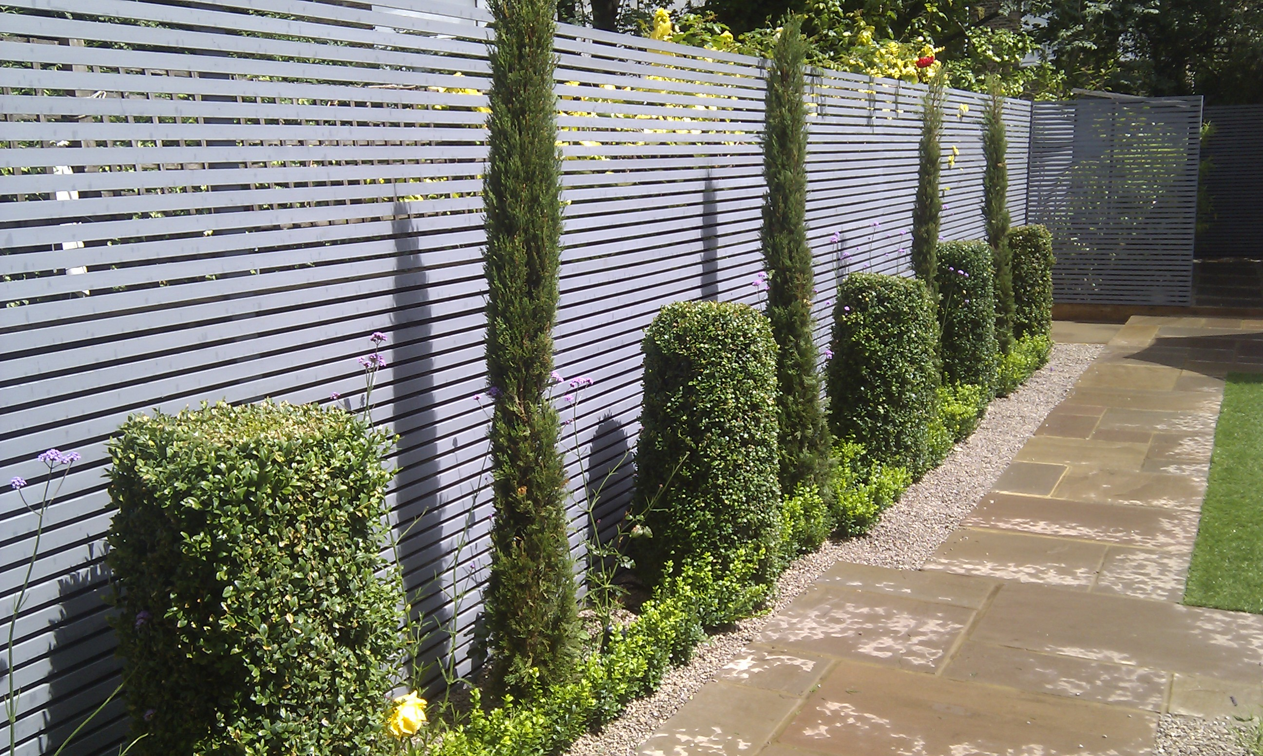 modern planting garden designer london