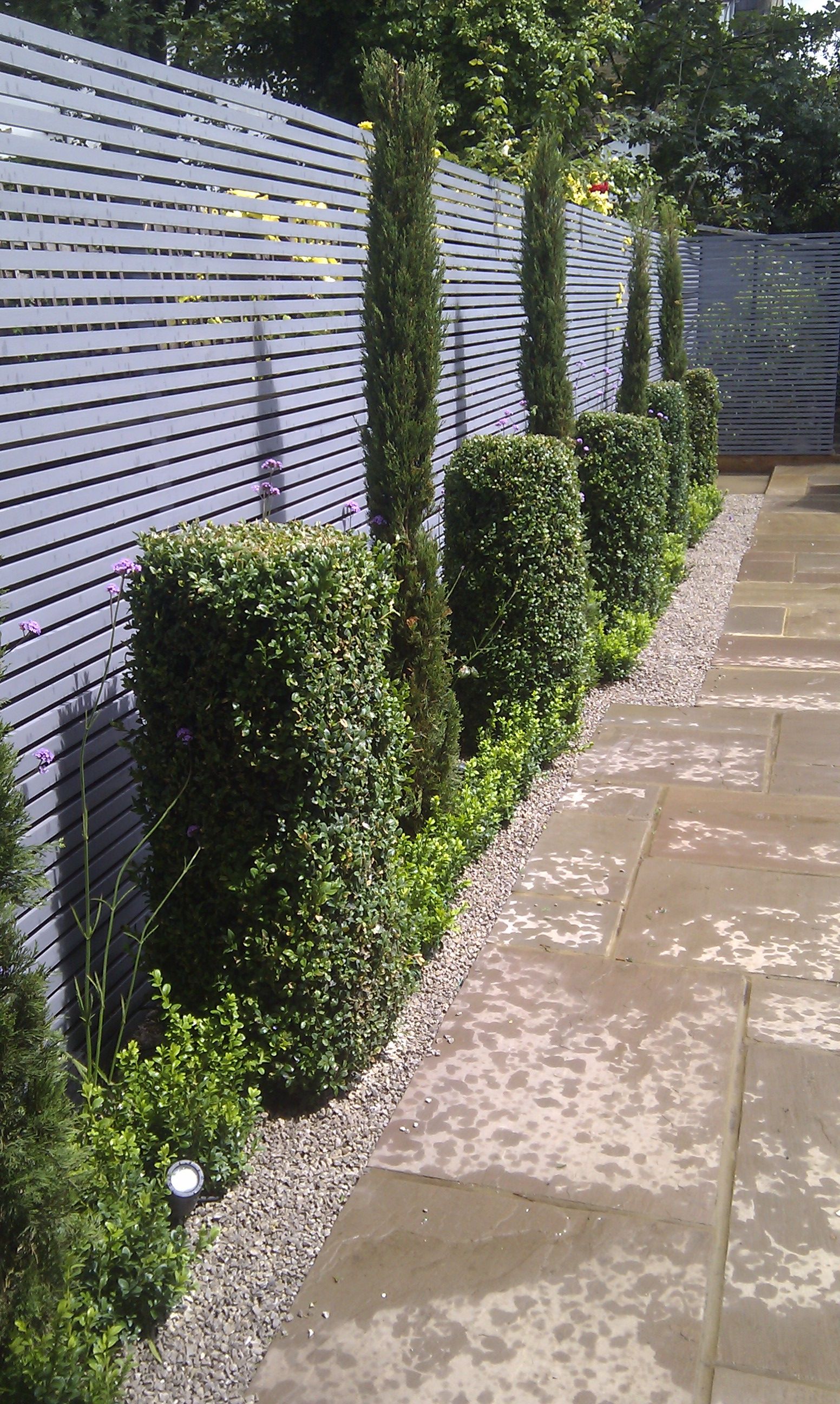 sandstone paving garden design london