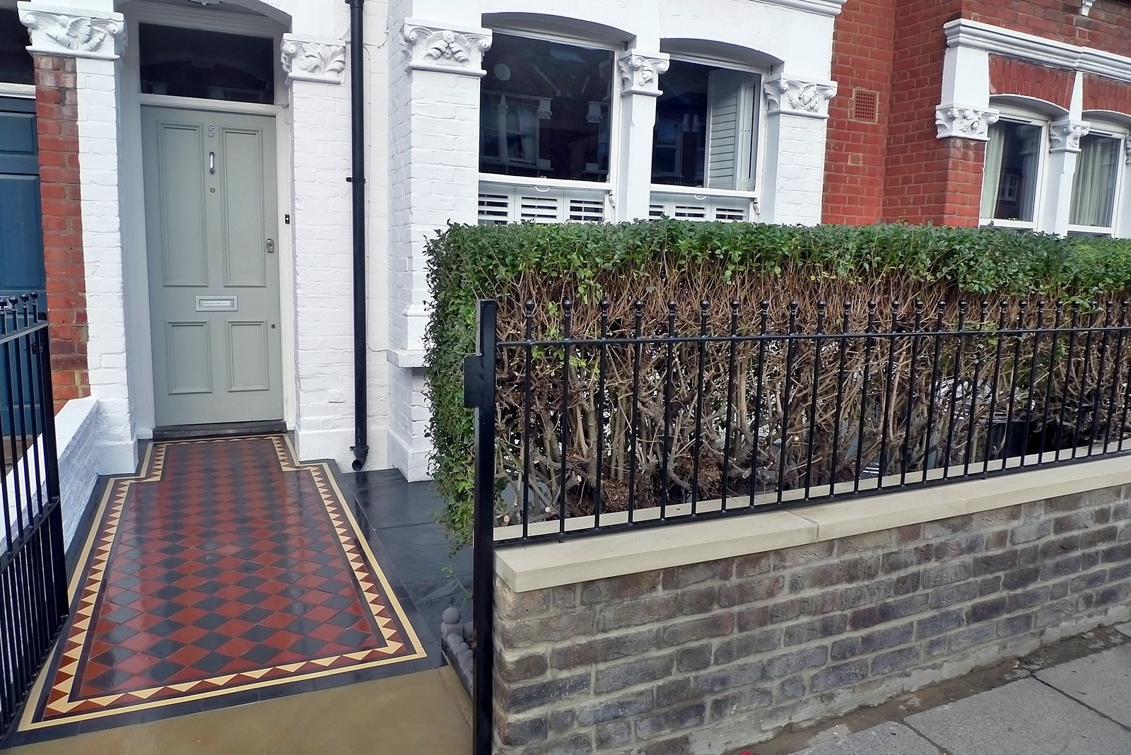 South West London Front Garden Design And Landscaping