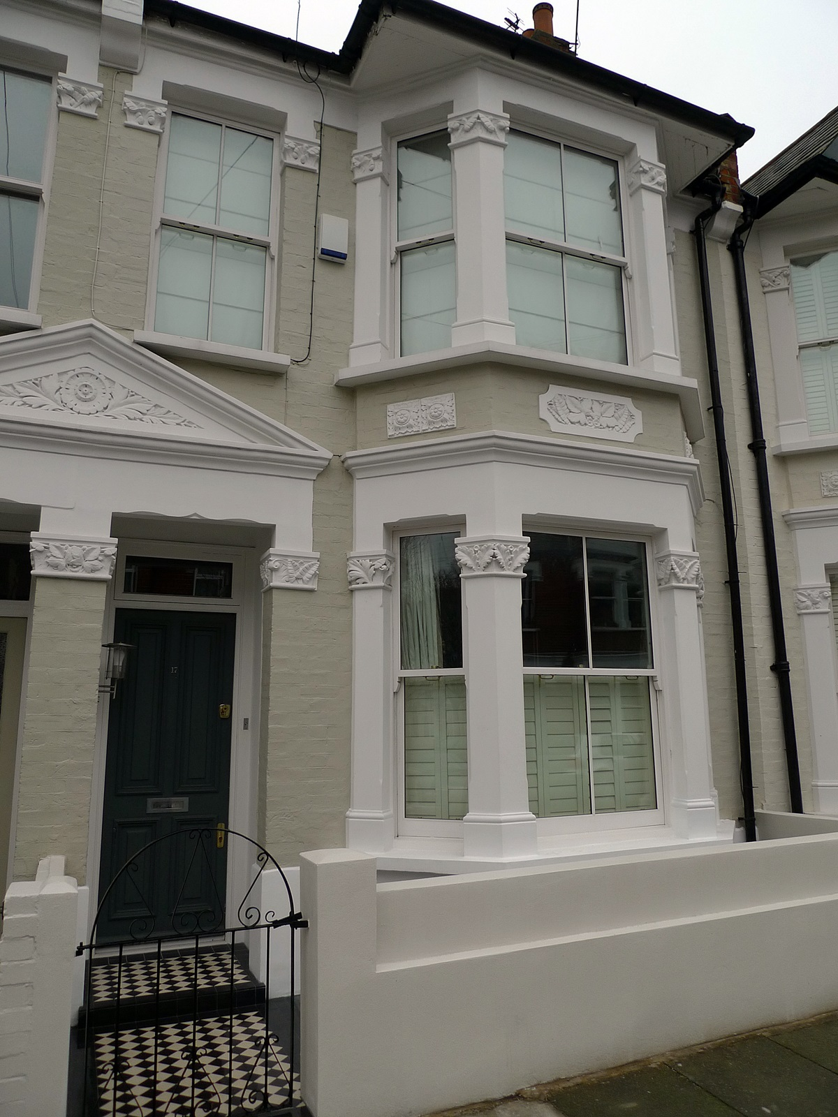 front garden design fulham and chelsea london