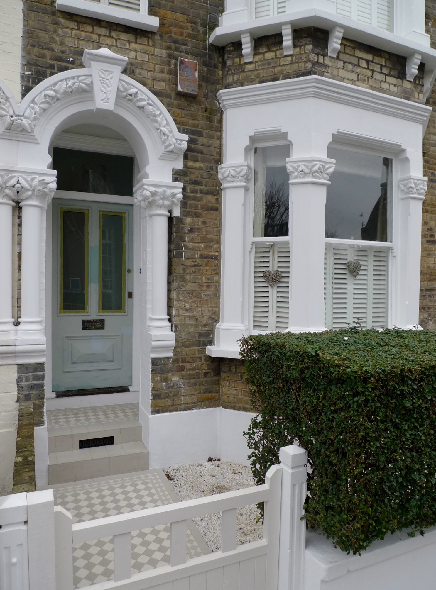 victroian front garden design compnay london