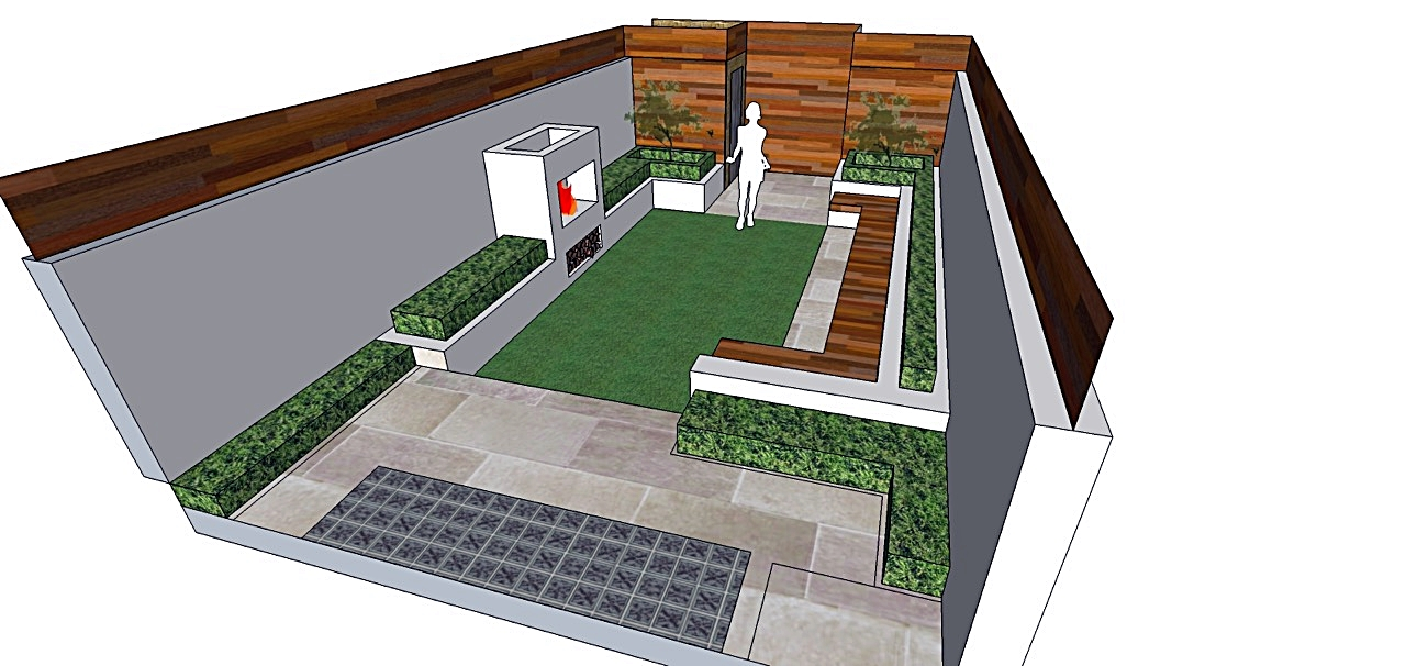 Modern Garden Design Clapham Battersea Balham London