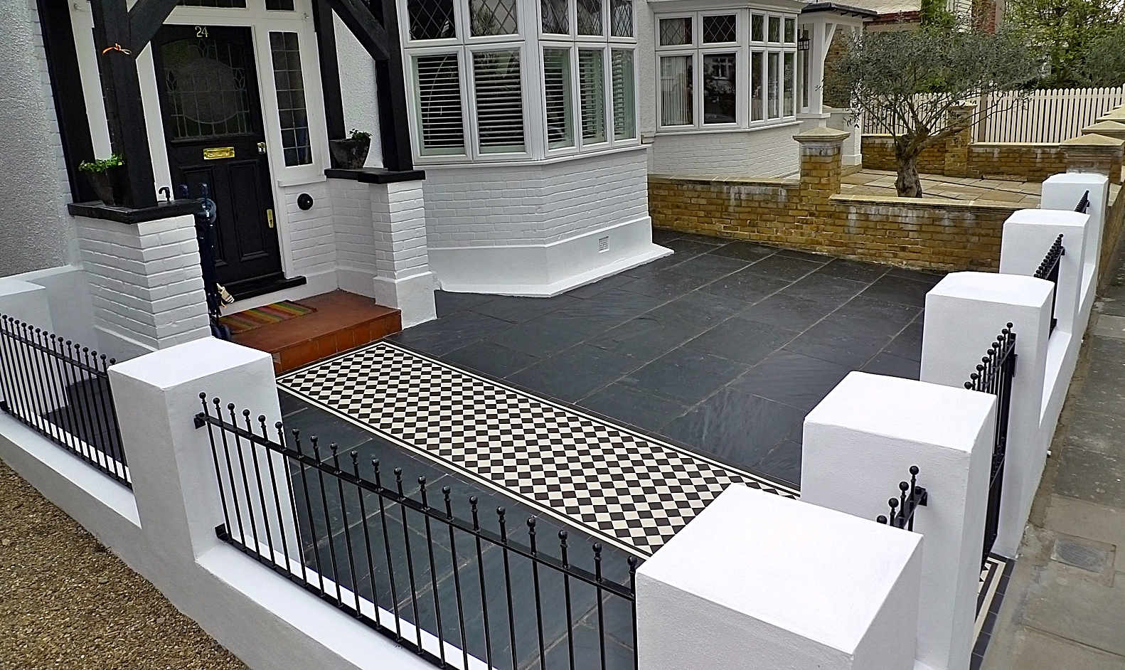 front garden design sheen richmond wandsworth london
