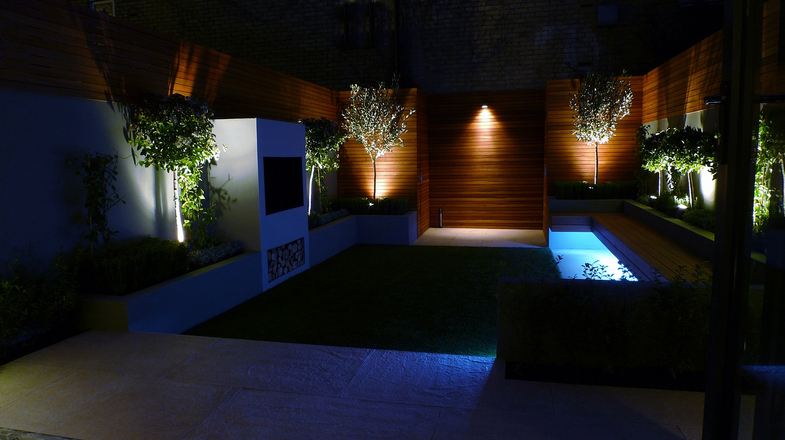 modern garden design and landscaping london
