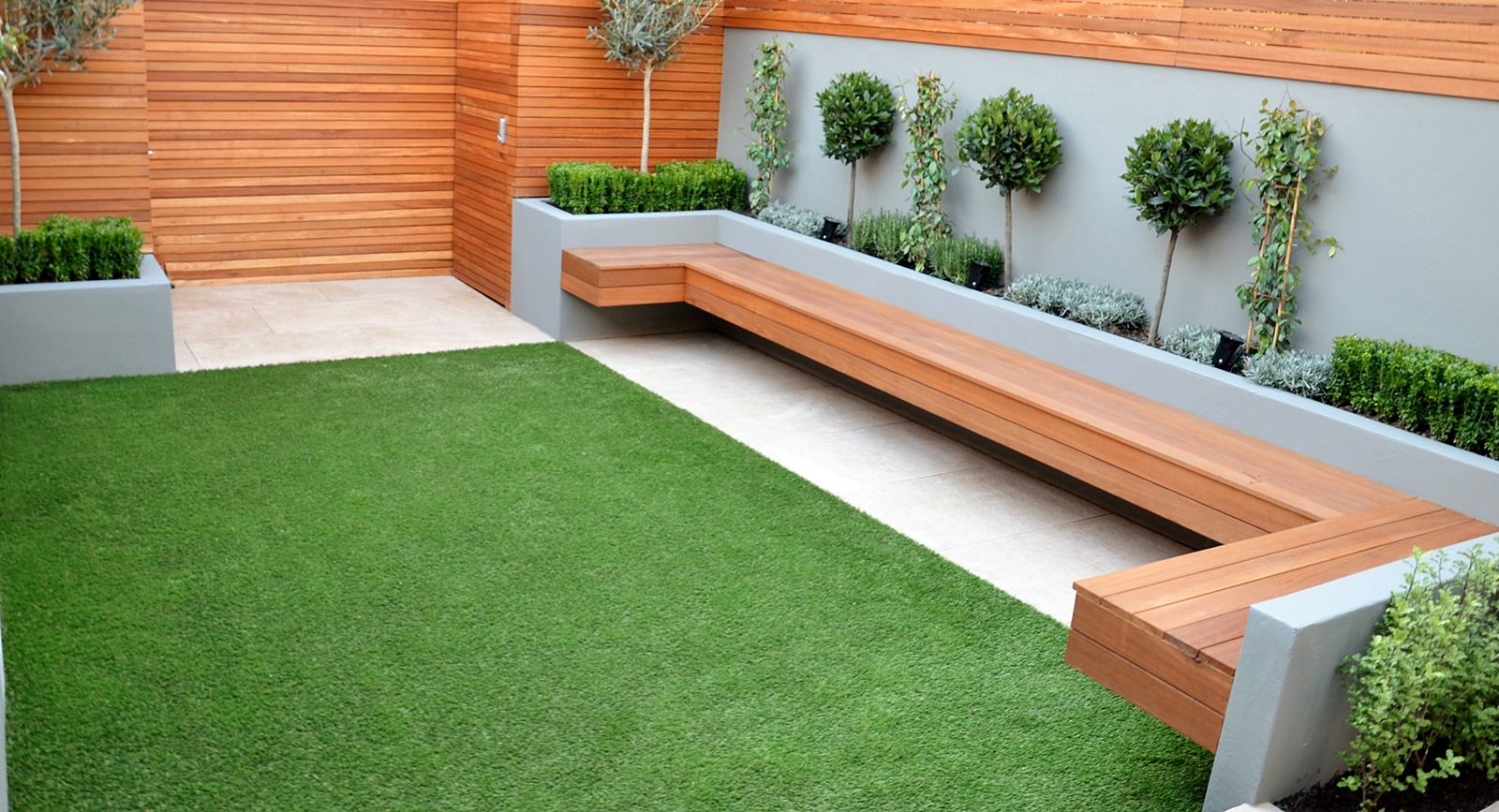 Modern garden design landscapers designers of contemporary for Contemporary backyard landscaping ideas