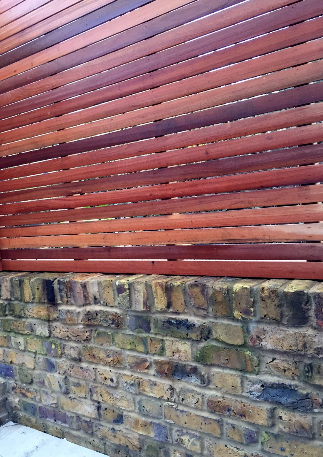 screen slatted trellis london