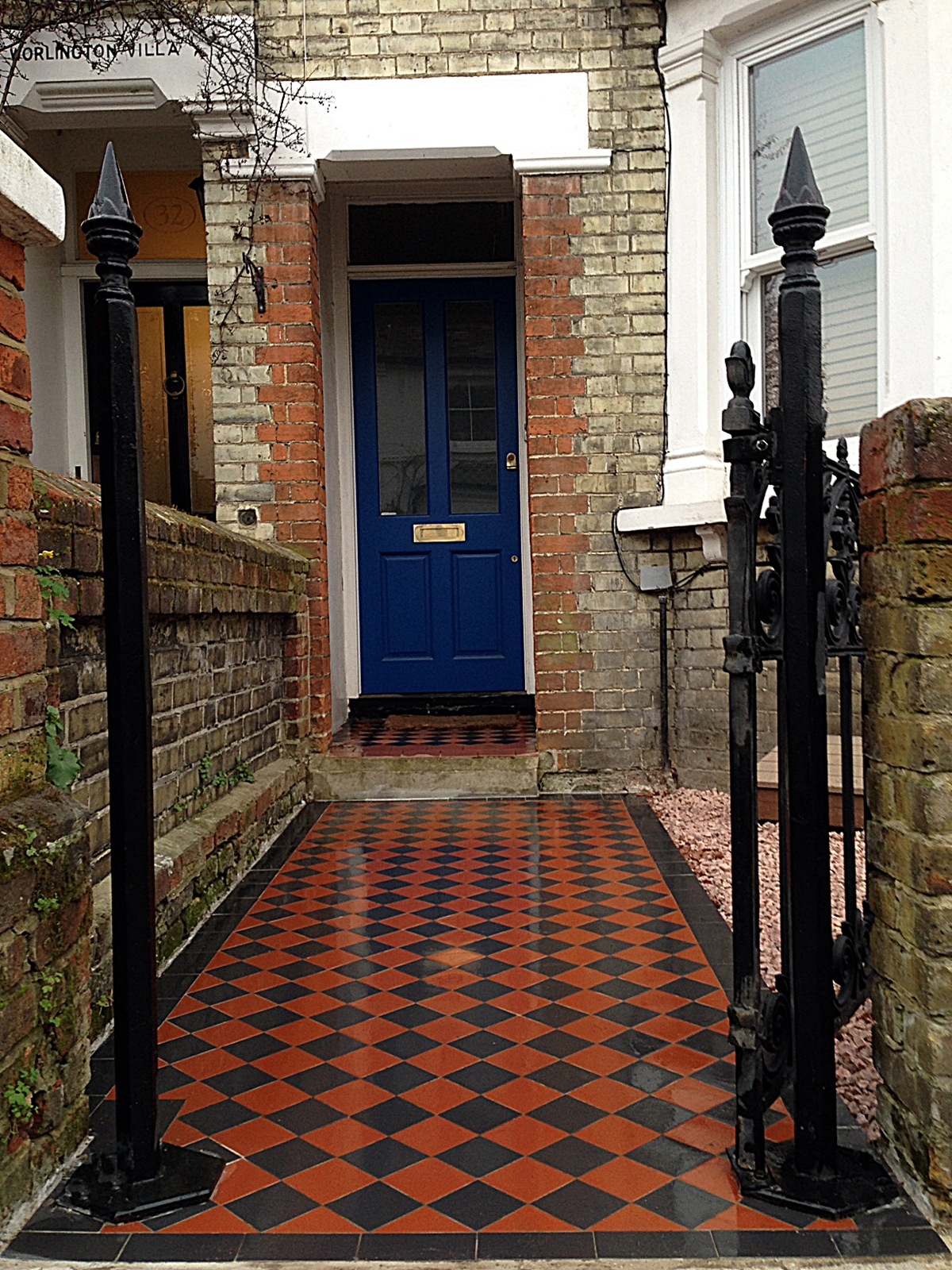 victorian mosaic path london