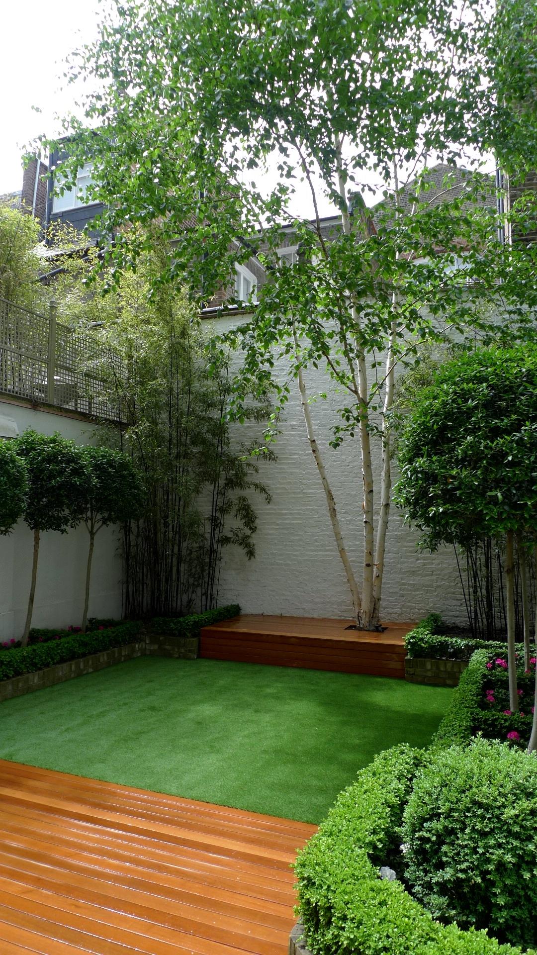 garden designer fulgam clapham london