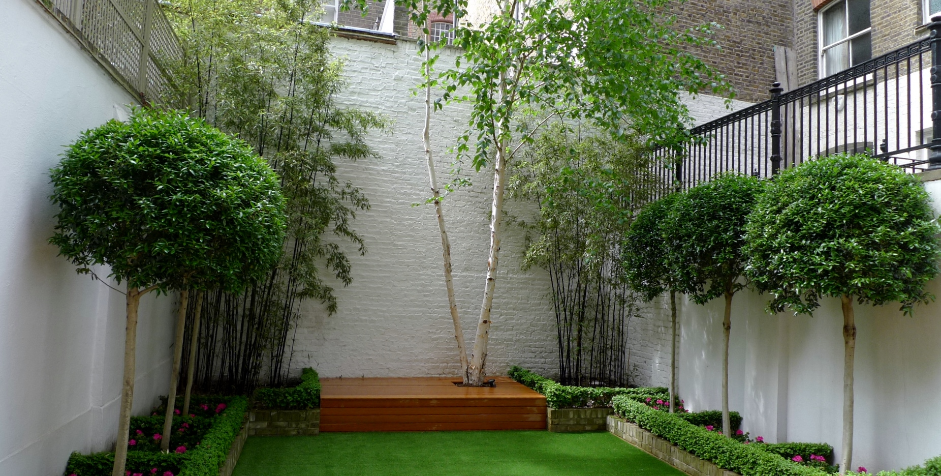 modern planting and garden design london and fulham