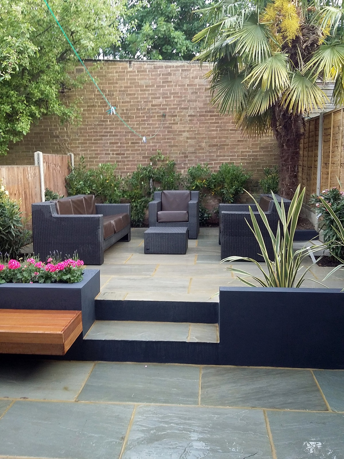 paving patio sandstone paving installation battersea balham clapham london