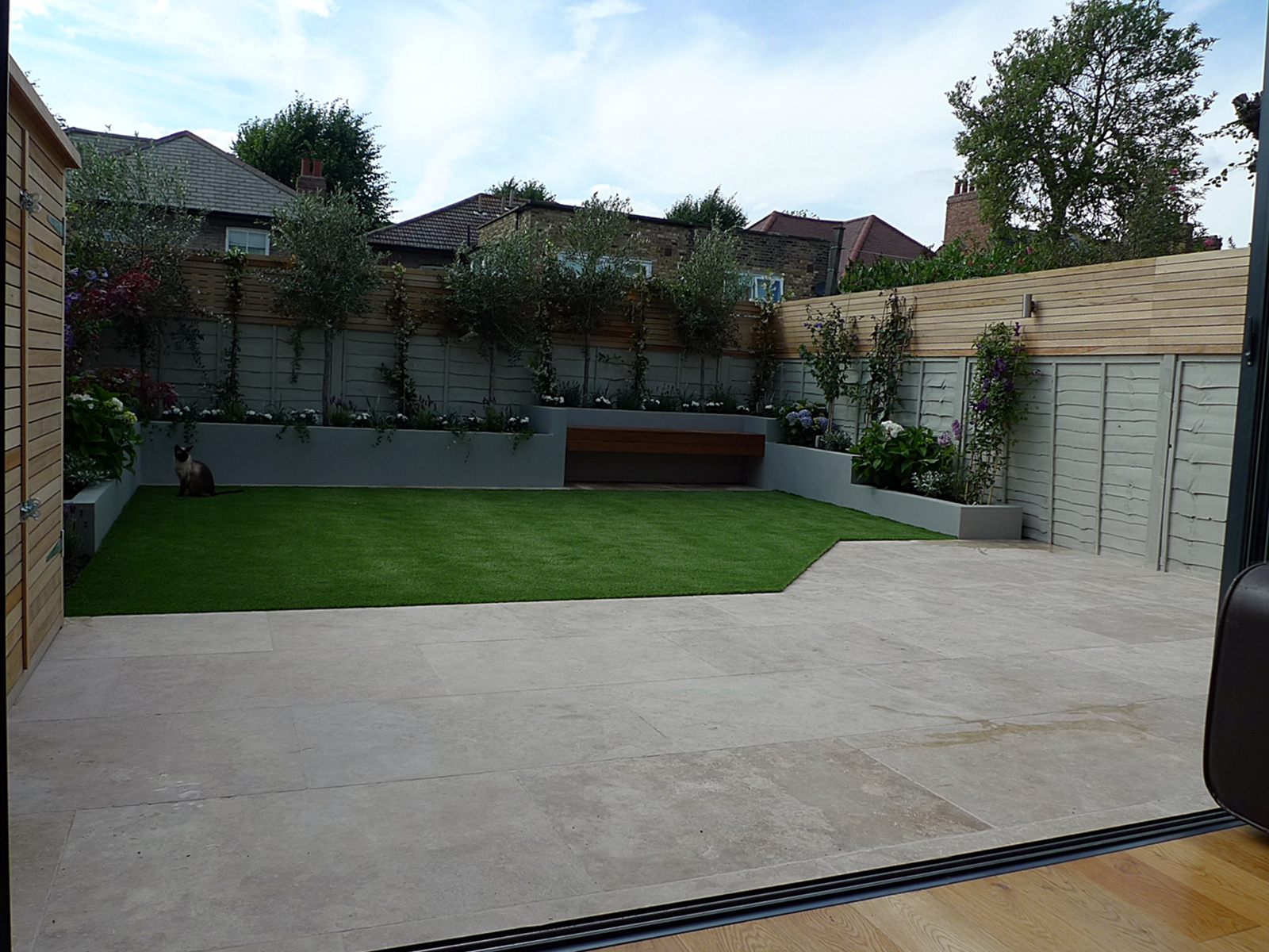 modern garden design and designer balham battersea clapham fulham chelsea dulwich putney wandsworth london