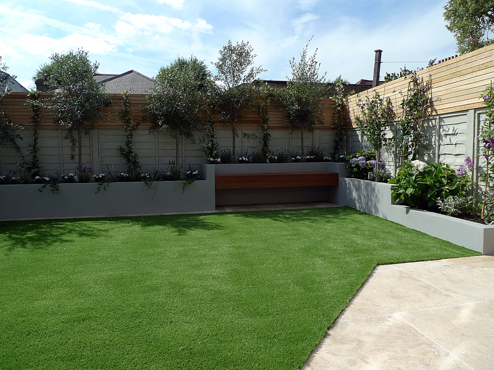 small garden design contemporary low maintenance designer putney peckham battersea balham clapham fulham chelsea balham london