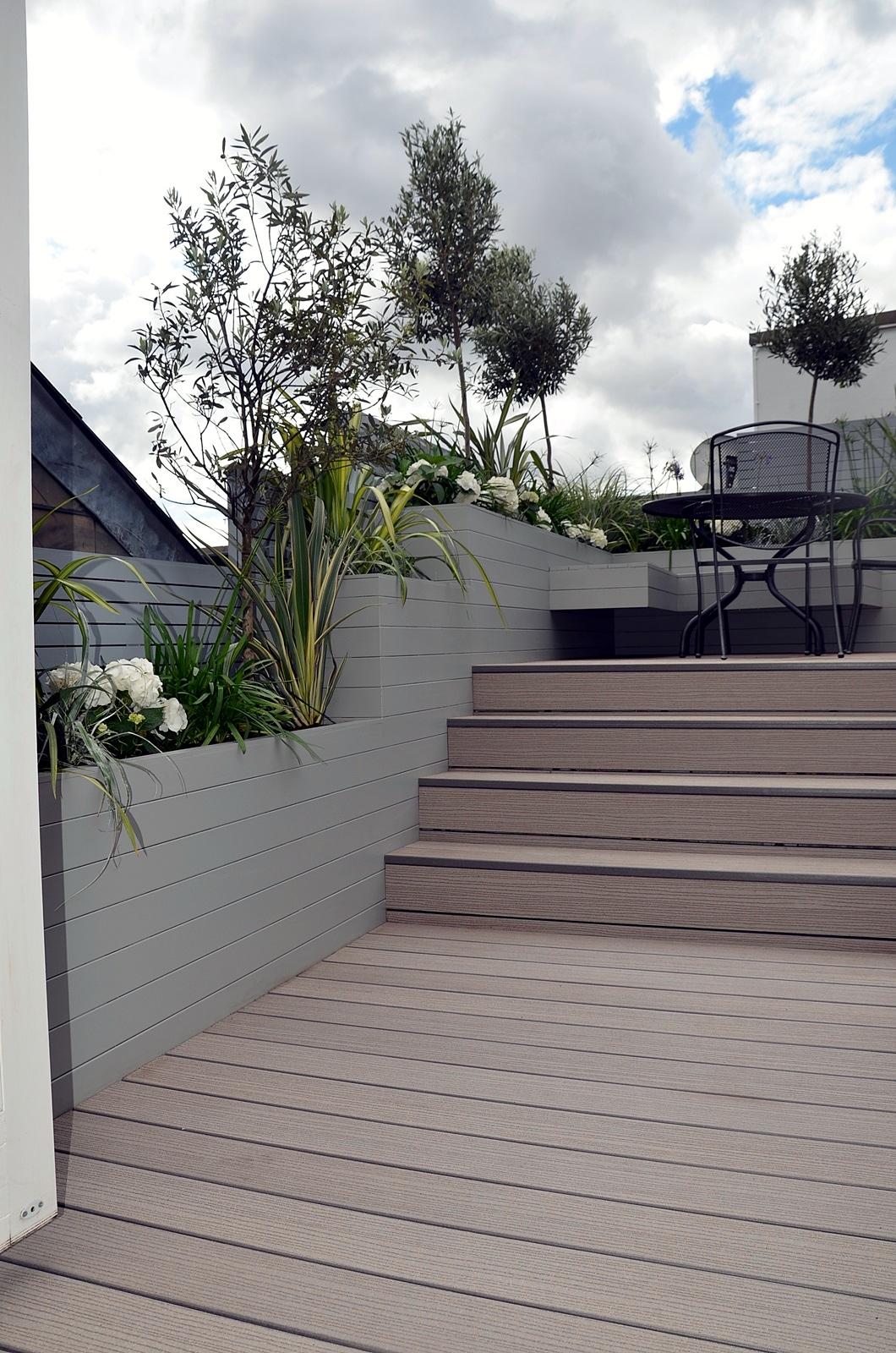 penthouse roof terrace garden design modern contemporary designer london