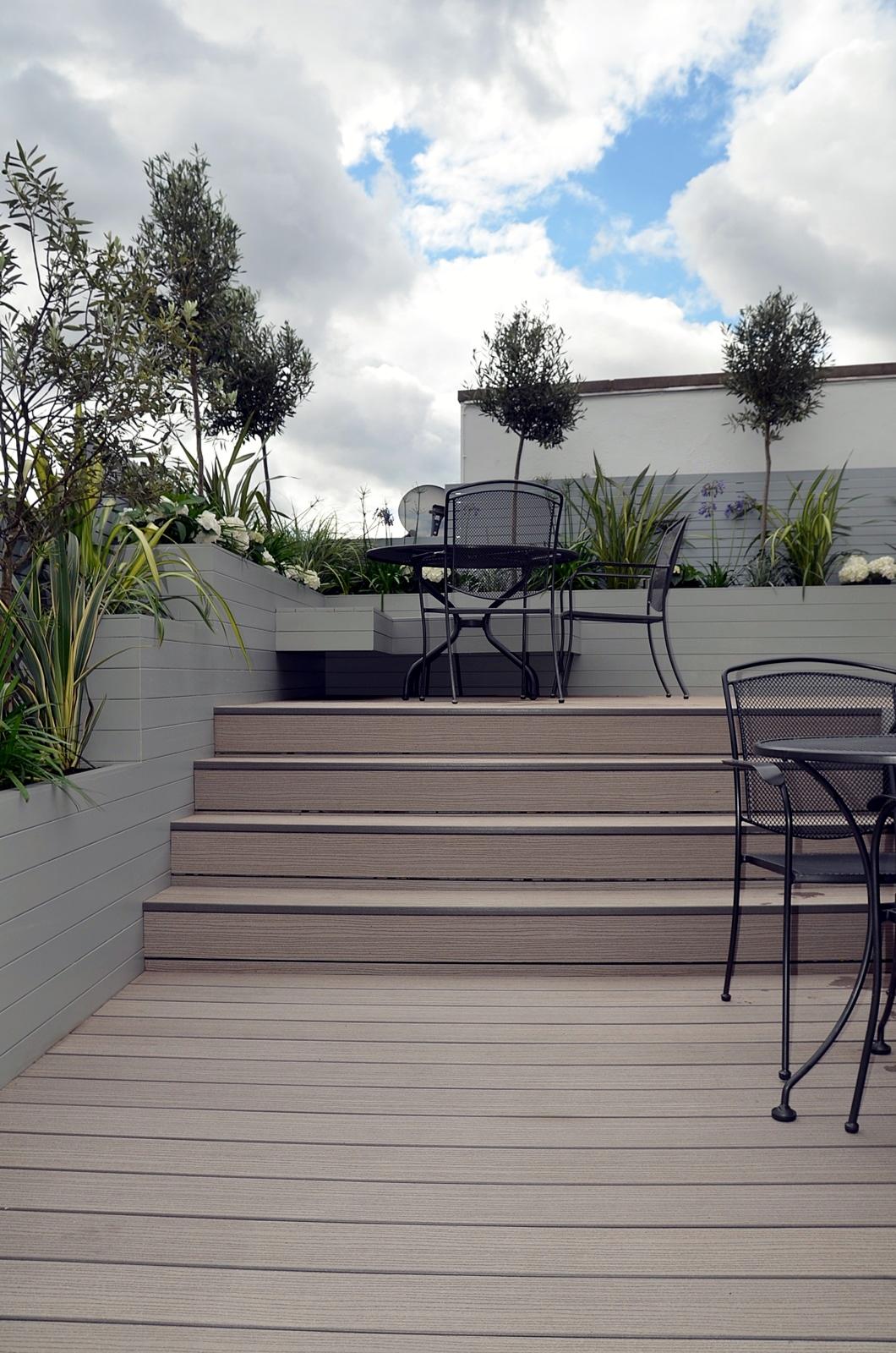 penthouse roof terrace garden design tower bridge docklands london