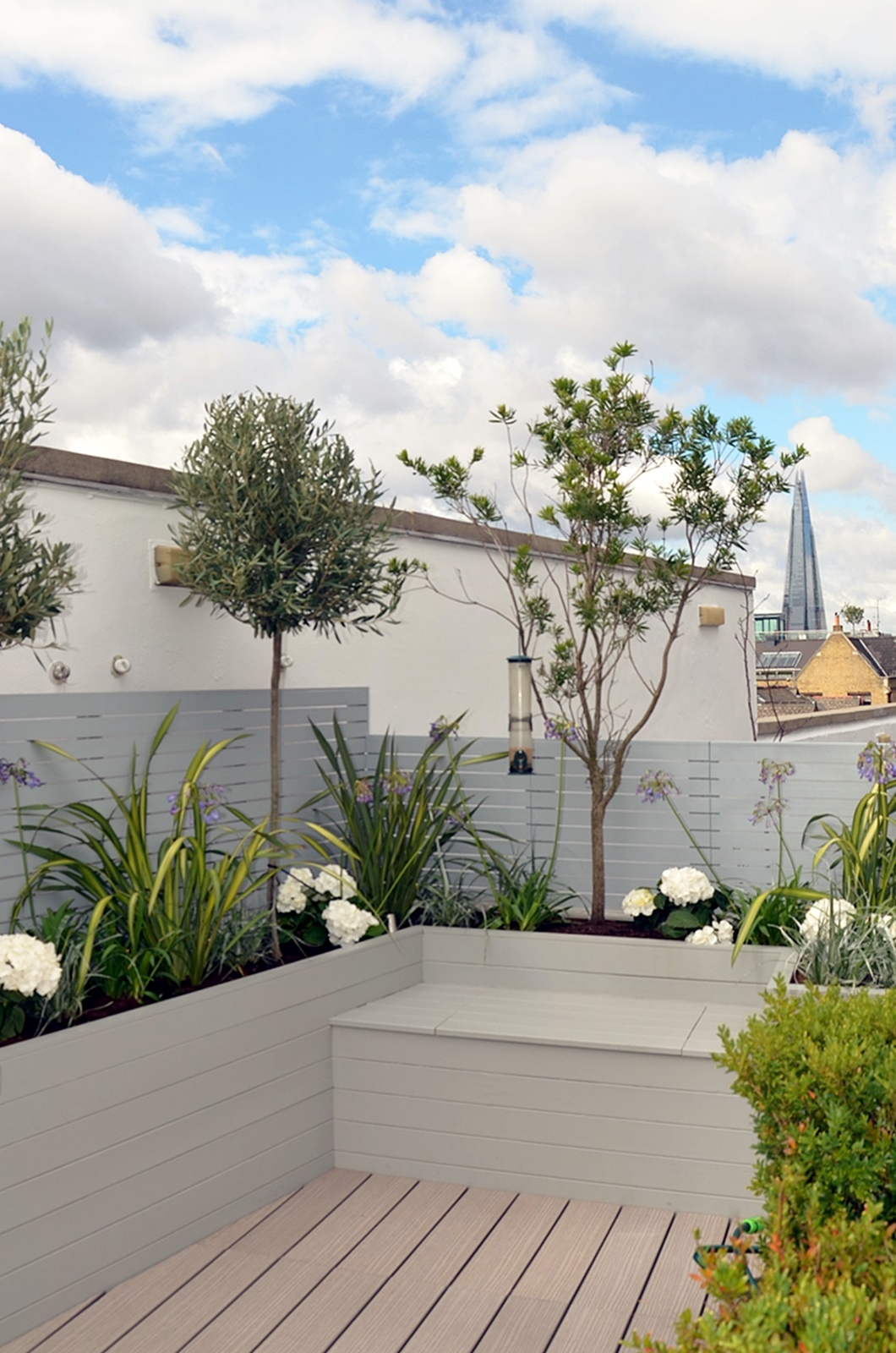 Tower Bridge Modern Garden Design Roof Penthouse Terrace